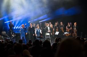 Naujametis koncertas su VDU orkestru 2015