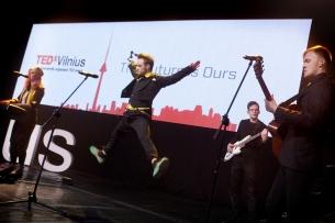 Pasirodymas TEDxVilnius