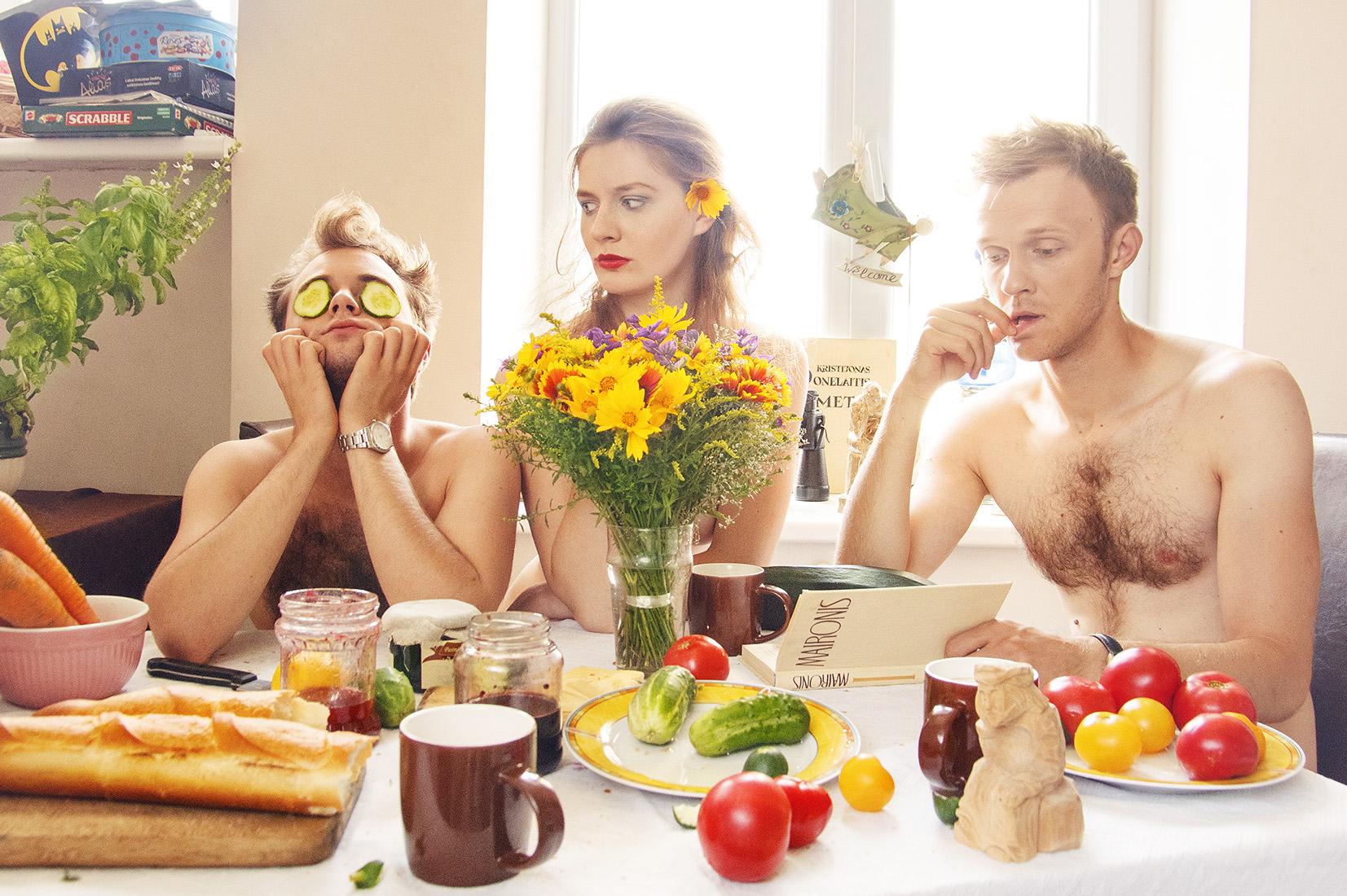 Liūdnų slibinų pusryčiai